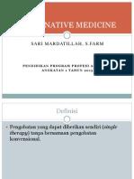 Alternative Medicine Dita