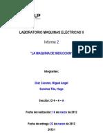 MAQUINAS ELECRICAS II INFORME N°2 (1)