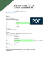 Evaluaciones Unidad 1 y 2 de Herramientas Telematicas