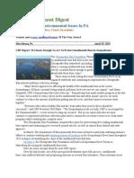 Pa Environment Digest April 29, 2013