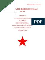 Entrevista Del Presidente Gonzalo ABIMAEL