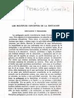 Ricardo Nassif. Pedagogia General. Cap. 1