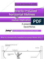Horizontal Lifelines Implications of Rescue