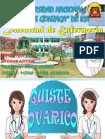 Diapositivas de Materno Infantil- Quiste Ovarico
