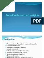 Diapositiva 10. Rotacion de Cuerpo Rigidos