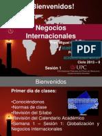 SESION No 01 Globalizacion y Negocios Internacionales