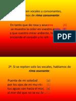 Rimas Estructura Del Poema 4to.