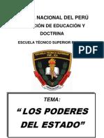Los Poderes Del Estado.-policia