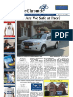 The Pace Chronicle Inaugural Issue - Volume I, Issue I - 9.14.11