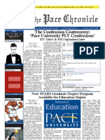The Pace Chronicle - Volume II, XXI - Issue - 4.10.13