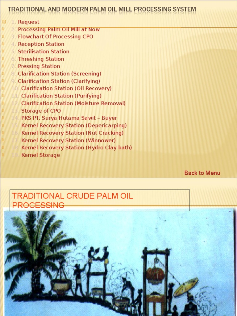 Palm oil mill process industrial processes industries nvjuhfo Image collections