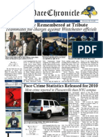 The Pace Chronicle - Volume I, Issue VI - 10.19.11