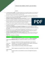 Manual de Seguridad de Sierra Circular de Mesa Para Madera
