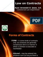 Obligation and Contracts