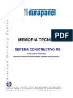 Memoria Tecnica Durapanel