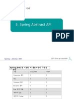 5.Spring Abstract API