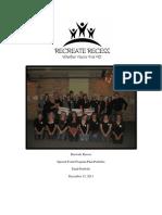 recreate recess portfolio plan final