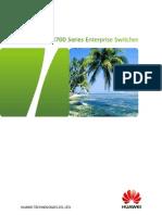 Huawei S3700 Switch Datasheet (22-Oct-2012)
