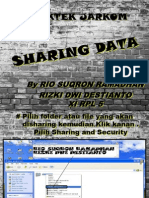 SETTING TCP IP DN SHARIN DATA WINDOWS XP