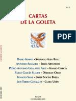 CARTAS DE LA GOLETA Nº 3