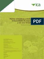 PLANTAS AROMATICAS Y MEDICINALES ENFERMEDADES DE IMPORTANCIA Y SUS USOS TERAPÉUTICOS - ICA