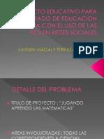 ProyectoTICS en Redessociales