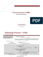 Flow Chart - Patenting Process in India - by Sagacious Research