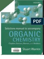 Organic Chemistry Clayden Solutions Manual