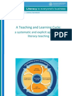 Teaching & Learning Cycle for ESL Learners in Mainstream Classes
