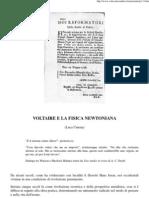 Umena Luca - Voltaire e La Fisica Newtoniana