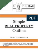Nailing the Bar Property