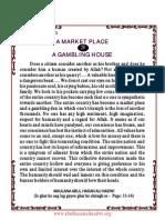 A Market Place or Gambling House- Abul Hasan Ali Nadwi