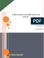 CSR & Ethics ppt