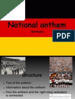 National Anthem Carina + Julia Powerpoint