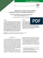 Incontinencia pigmentaria asociada a fi sura palatina.