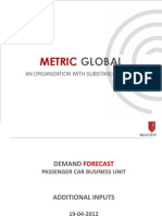 Demand Forecast Report-March2012-Additional Inputs