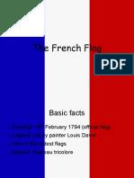 Französische Flagge chiara und christina