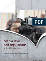 DCMF'S Report on GCC Media Laws