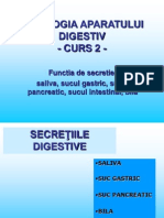 Fiziologia Sistemului Digestiv proiect ppt