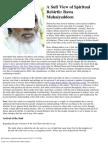 A Sufi View of Rebirth_ Bawa Muhaiyaddeen
