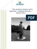 SANITA' ABRUZZO Report Mobilita 2011