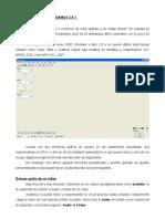 Manual Basico de Avidemux