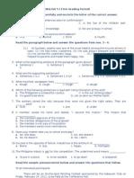 Div Achievement Test Eng 5