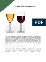 Tulisan 9 Daftar Minuman Yang Dapat Menggugurkan Kandungan