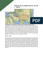 Tulisan 18 Agama Dan Perdagangan Disepanjang Jalur Sutra