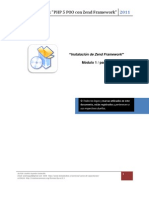 1 2 Zend Framework Instalacion