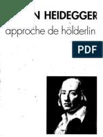 Heidegger - Approche de Hölderlin