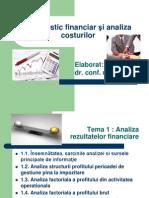 Diagnostic financiar şi analiza costurilor - 1 Cahul