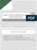 Structure & Presentation Des Pages Web