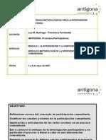 Estrategias metodológicas para la intervención comunitaria